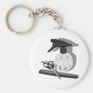 HairdresserItems060910Shadows Key Ring