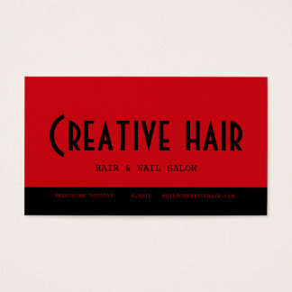 Hairdresser's Appointment Card