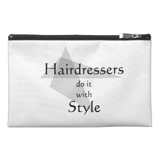 Hairdressers Do It With Style Travel Accessories Bag
