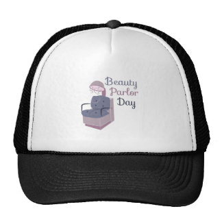 HairDryerBeautyParlorDay Trucker Hats