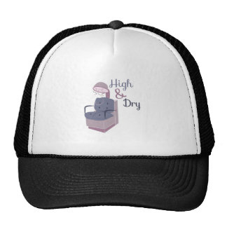 HairDryerHigh&Dry Trucker Hats