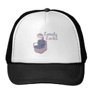 HairDryerLovelyLocks Mesh Hats