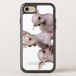 Hairless Chihuahua (5 and 7 months old) OtterBox Symmetry iPhone 7 Case