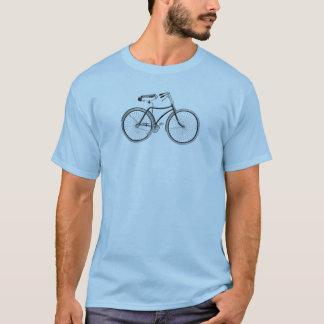 Hairpin Saddle Vintage Bicycle T-Shirt
