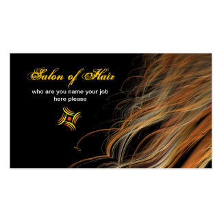 hairs business card
