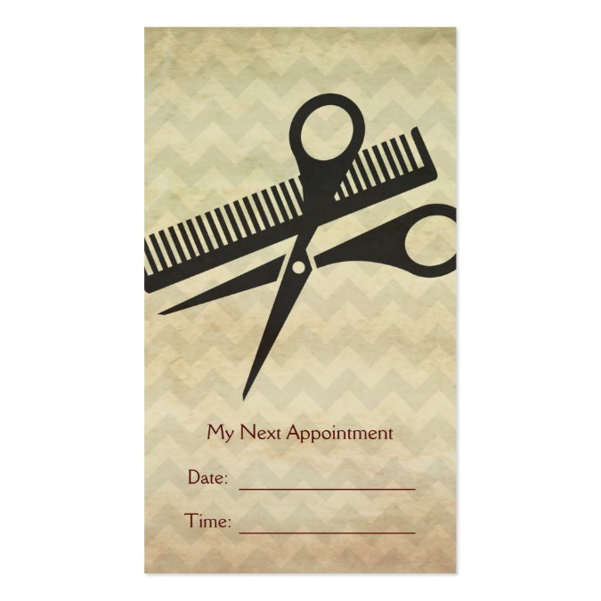 Beauty Salon Appointment Reminder Card Business Card Template – Reminder Card Template