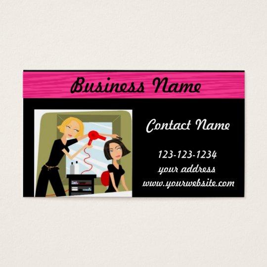 Hairstylist Beauty Salon business card