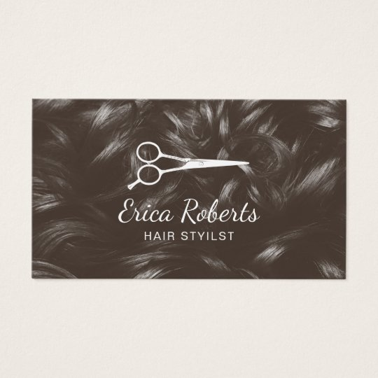 Hairstylist Hair Salon Professional Appointment Business Card