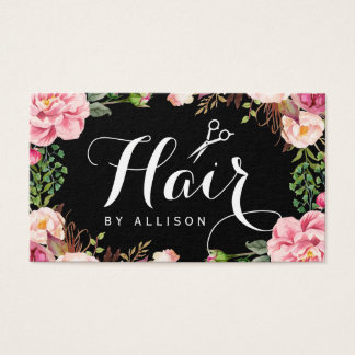 Hairstylist Hair Stylist Romantic Floral Wrapping