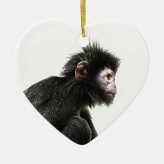 Hairy Baby Monkey Christmas Ornament