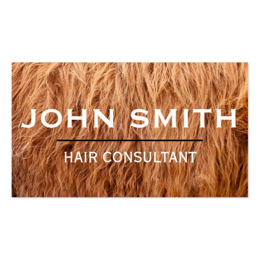 Hairy Business Card