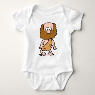 Hairy Caveman Baby Bodysuit