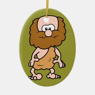 Hairy Caveman Christmas Ornament