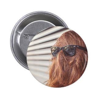 Hairy Creature 6 Cm Round Badge
