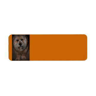 Hairy Dog Avery Label Return Address Label