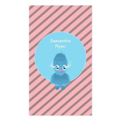 HAIRY ELF BEAR BUSINESS CARD