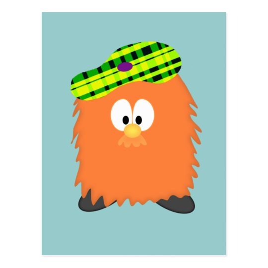 Hairy Haggis Postcard | Zazzle.co.uk