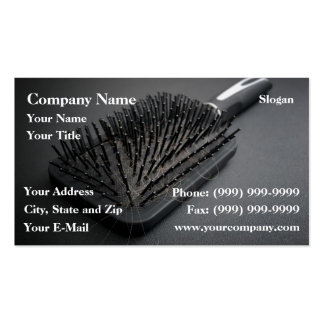 Hairy hairbrush pack of standard business cards