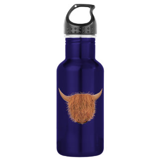 Hairy Highland Cow 532 Ml Water Bottle