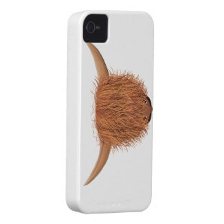 Hairy Highland Cow Blackberry Case