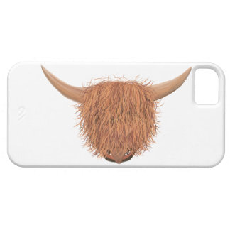 Hairy Highland Cow iPhone 5 Case