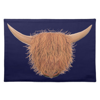Hairy Highland Cow Placemat