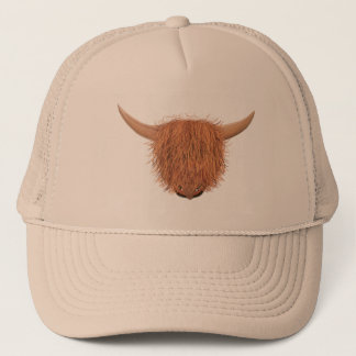 Hairy Highland Cow Trucker Hat