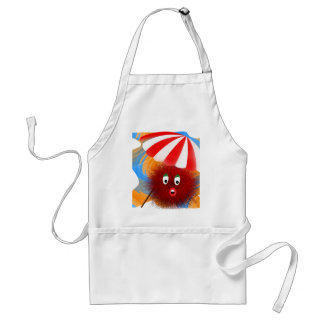 Hairy Holiday Standard Apron