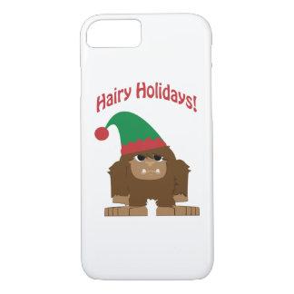 Hairy Holidays! Christmas Sasquatch iPhone 7 Case