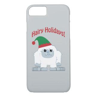 Hairy Holidays! Christmas Yeti iPhone 7 Case
