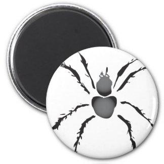 Hairy Spider 6 Cm Round Magnet