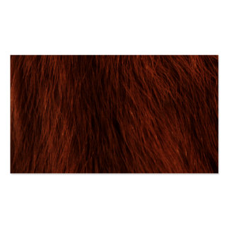 Hairy Texture Pack Of Standard Business Cards