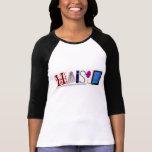 HAISLN 3/4 T-SHIRTS