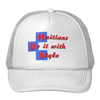haiti012 mesh hats