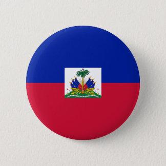 haiti 6 cm round badge