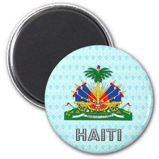 Haiti Coat of Arms 6 Cm Round Magnet