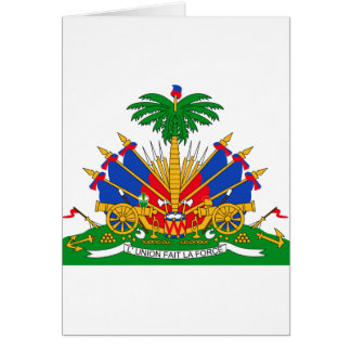 Haiti Coat of Arms Greeting Cards