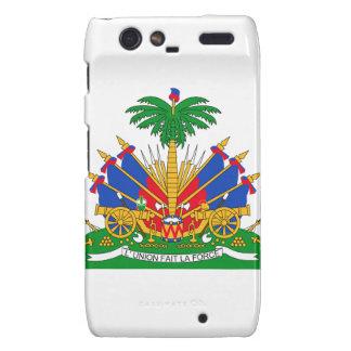 Haiti Coat of Arms Motorola Droid RAZR Cover