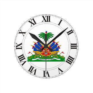 Haiti Coat of Arms Wall Clocks