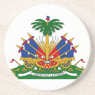 Haiti Coat Of Arms Coaster