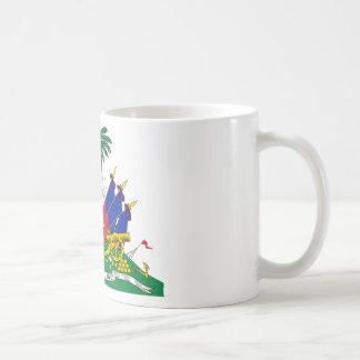 Haiti coat of arms coffee mug