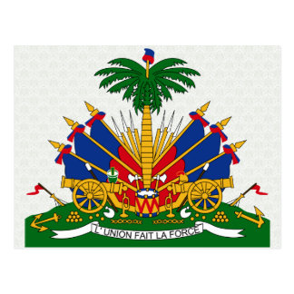 Haiti Coat of Arms detail Postcard