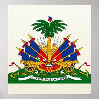 Haiti Coat of Arms detail Poster