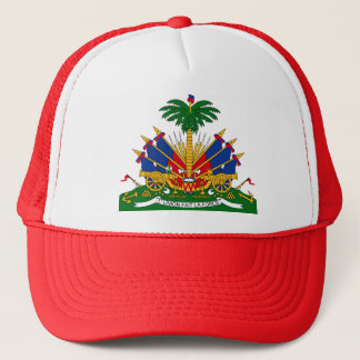 Haiti Coat of Arms detail Trucker Hat