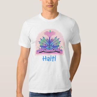 Haiti Coat of Arms, Haitian Flag Colors Tshirt