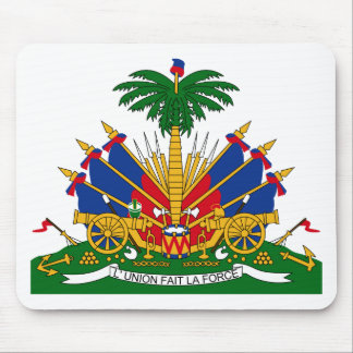 Haiti Coat of arms HT Mouse Mat