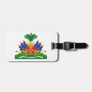 Haiti Coat of Arms Tags For Bags