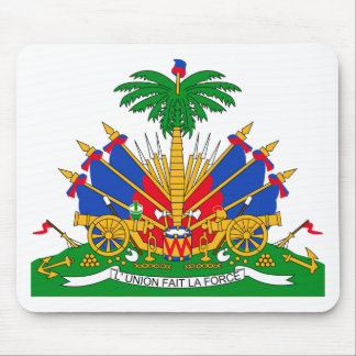 Haiti Coat of Arms Mouse Pad