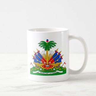 Haiti Coat of Arms Coffee Mugs