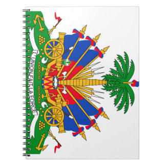 Haiti Coat of Arms Spiral Note Books